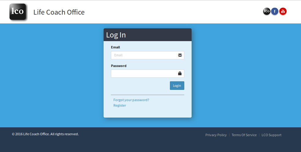 Standard-Life-Coach-Office-Login-Page