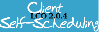 LCO 2.0.4 – Client Self-Scheduling