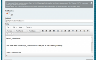 LCO 1.7 – New Meeting Invitations +