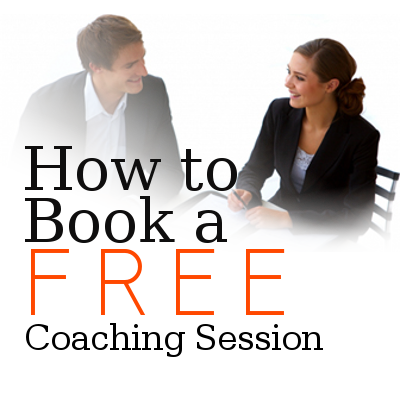 how book free coaching session