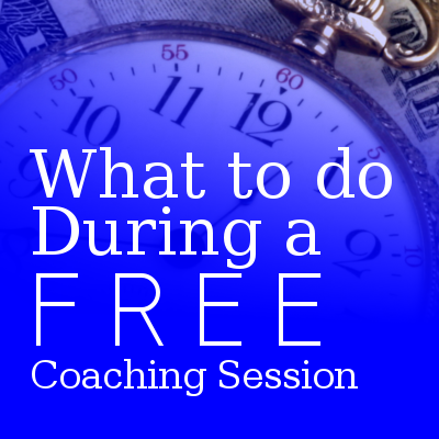 what to do free coaching session