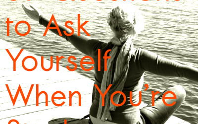 37 Questions to Ask Yourself When You're Stuck