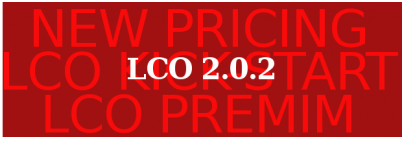 LCO 2.0.2 – New Pricing