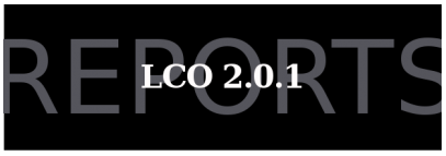 LCO 2.0.1 – Reports Upgrade