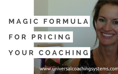 The Magic Formula for Pricing Your Coaching