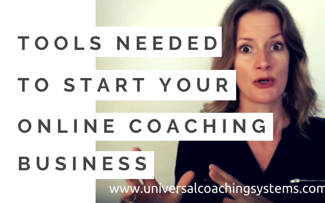 Tools Needed to Start Your Online Coaching Business